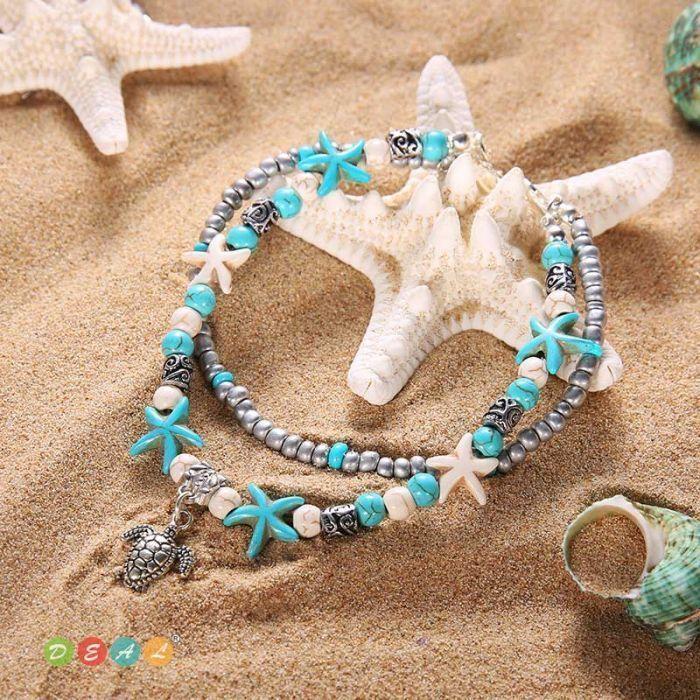 beach sea anklete
