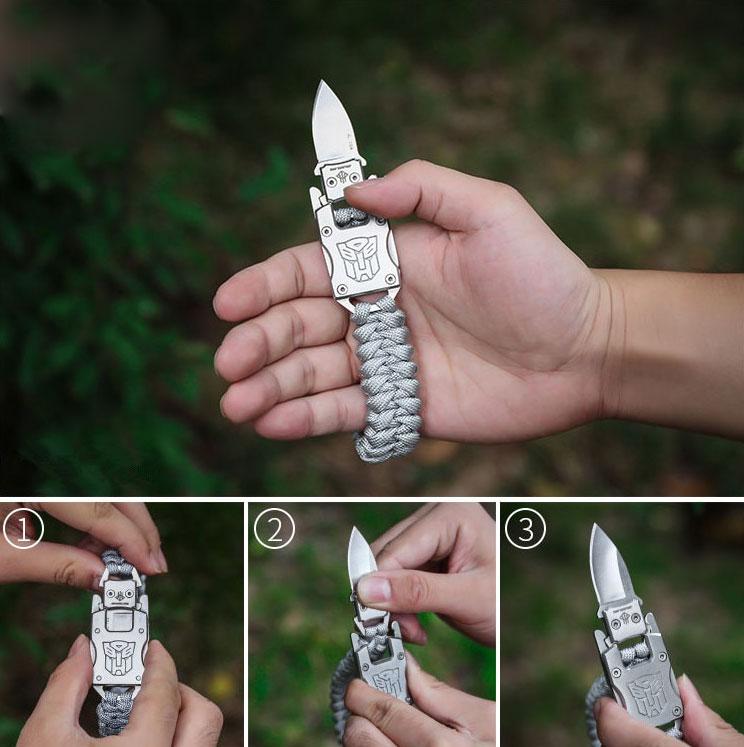tactical cord bracelet