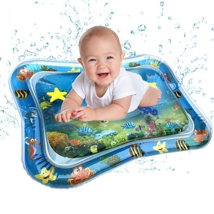 kleeger inflatable baby water mat