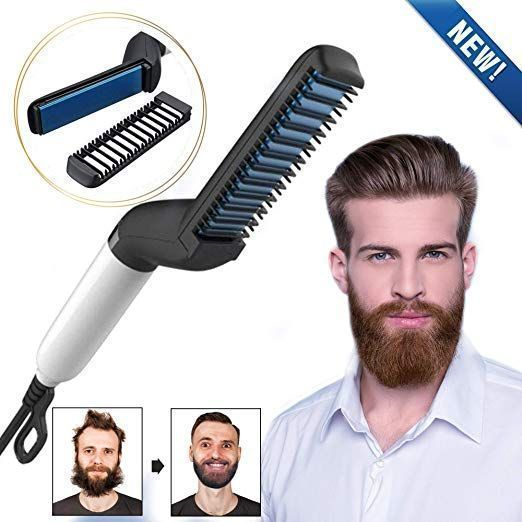 beard straightener for black men