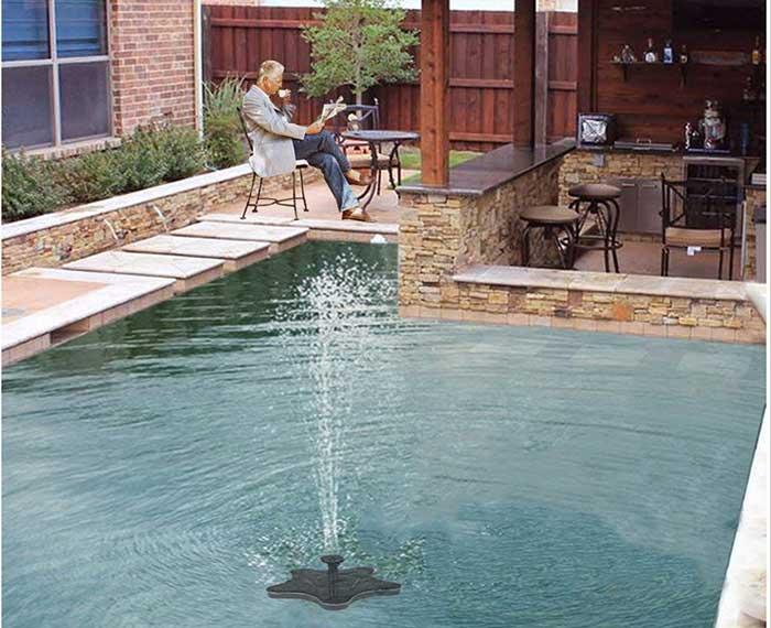 submersible fountain