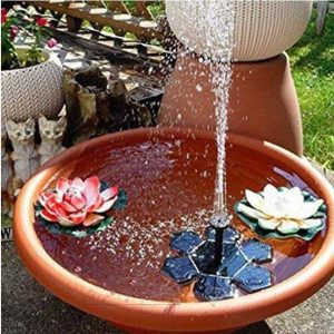 Solar Water Fountain Pump Decoration