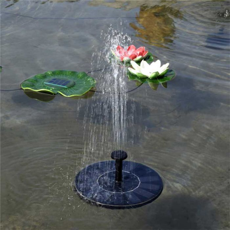 solar powered pond