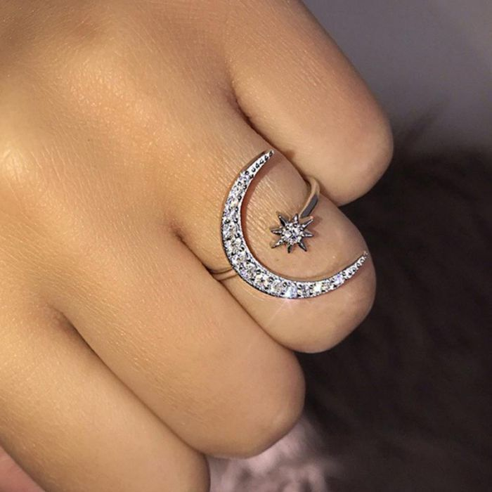 moon and star ring kay jewelers