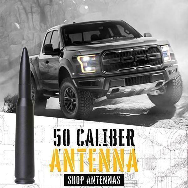 50 cal antenna chevy