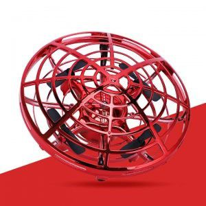 Red ufo drone