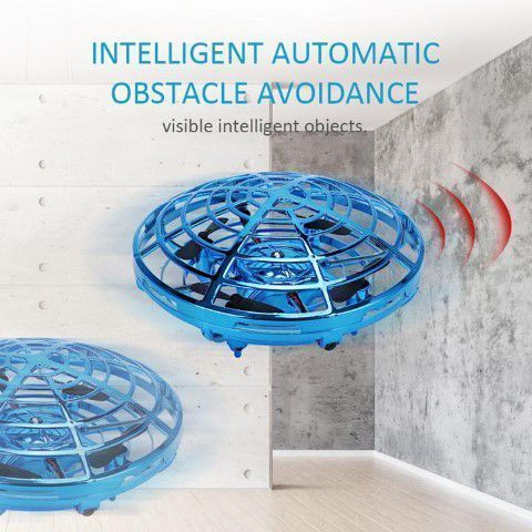 Intelligent drone quad induction levitation ufo sensors