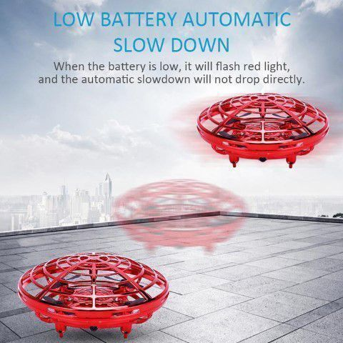 Low battery feature levitation ufo