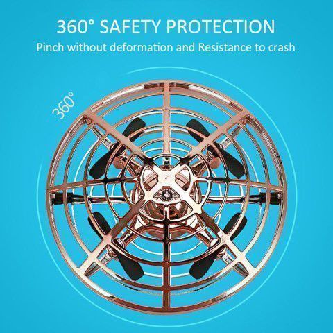 360 degree safety feature drone