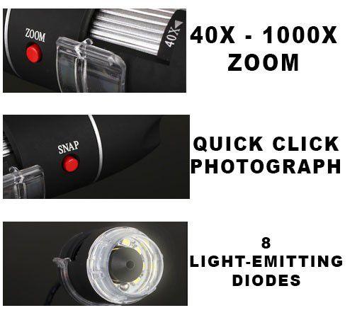usb microscope 1000x