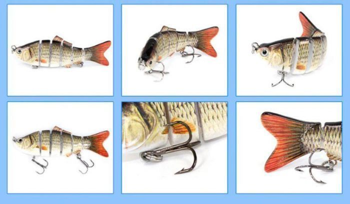 Swimming fishing lure fish specifications